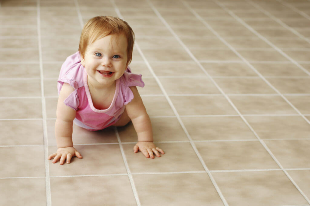 tile grout cleaning baby safe